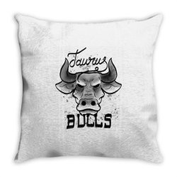 Taurus Bulls Graphic Throw Pillow | Artistshot