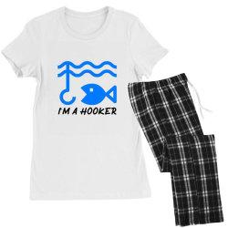 t shirt i am a hooker, Fisherman Tshirt Women's Pajamas Set | Artistshot