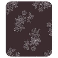 maroon Floral Mousepad   Artistshot