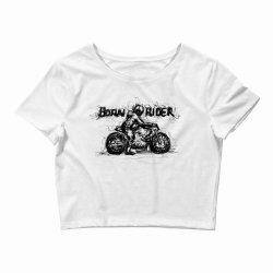 Born Rider Crop Top | Artistshot