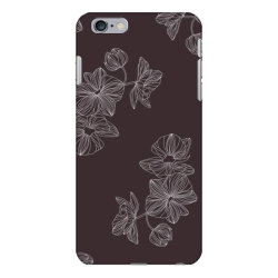 maroon Floral iPhone 6 Plus/6s Plus Case | Artistshot
