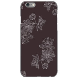 maroon Floral iPhone 6/6s Case | Artistshot