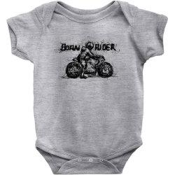Born Rider Baby Bodysuit | Artistshot