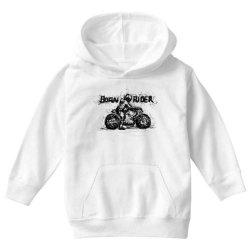 Born Rider Youth Hoodie | Artistshot
