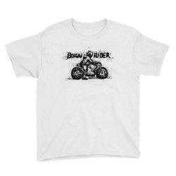 Born Rider Youth Tee | Artistshot
