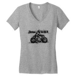 Born Rider Women's V-Neck T-Shirt | Artistshot
