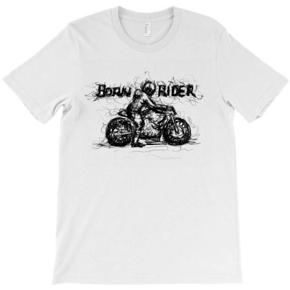 Born Rider T-shirt Designed By Lalitcanvas