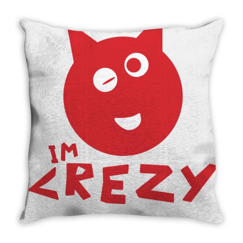 Mood Crezy Throw Pillow | Artistshot