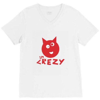 Mood Crezy V-neck Tee Designed By Jiten