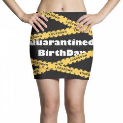 Quarantined BirthDay Mini Skirts   Artistshot