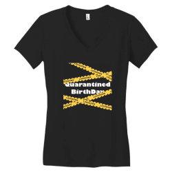 Quarantined BirthDay Women's V-Neck T-Shirt   Artistshot
