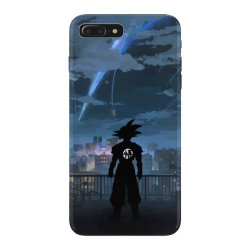 Dragon ball Z (DBZ) GOKU (Low Poly Abstract) FanArt (ZoomOut Effect) iPhone 7 Plus Case | Artistshot