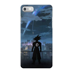 Dragon ball Z (DBZ) GOKU (Low Poly Abstract) FanArt (ZoomOut Effect) iPhone 7 Case | Artistshot