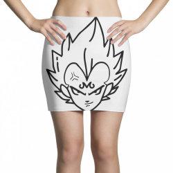 Dragon ball Z (DBZ) Vegeta (Low Poly Abstract) FanArt (ZoomOut Effect) Mini Skirts | Artistshot