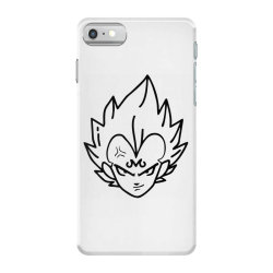 Dragon ball Z (DBZ) Vegeta (Low Poly Abstract) FanArt (ZoomOut Effect) iPhone 7 Case | Artistshot