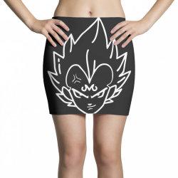 Dragon ball Z (DBZ) Vegeta (Low Poly Abstract) FanArt (ZoomOut Effect) Mini Skirts   Artistshot