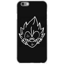 Dragon ball Z (DBZ) Vegeta (Low Poly Abstract) FanArt (ZoomOut Effect) iPhone 6/6s Case | Artistshot