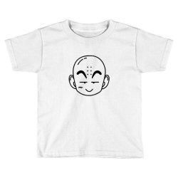 Dragon ball Z (DBZ) krillin (Low Poly Abstract) FanArt Toddler T-shirt   Artistshot