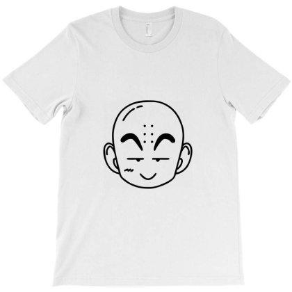 Dragon Ball Z (dbz) Krillin (low Poly Abstract) Fanart T-shirt Designed By Dc47