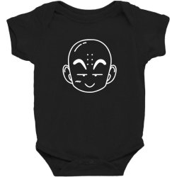 Dragon ball Z (DBZ) krillin (Low Poly Abstract) FanArt Baby Bodysuit | Artistshot