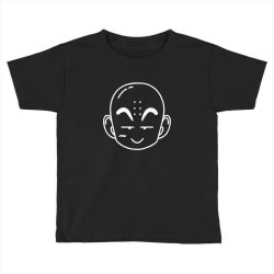 Dragon ball Z (DBZ) krillin (Low Poly Abstract) FanArt Toddler T-shirt | Artistshot