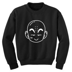 Dragon ball Z (DBZ) krillin (Low Poly Abstract) FanArt Youth Sweatshirt | Artistshot