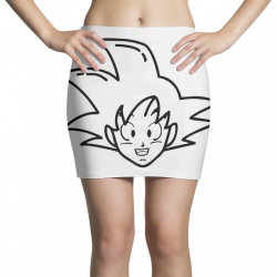 Dragon ball Z (DBZ) GOKU (Low Poly Abstract) Mini Skirts | Artistshot