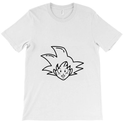Dragon Ball Z (dbz) Goku (low Poly Abstract) T-shirt Designed By Dc47