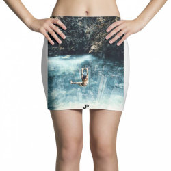 UNDERWATER CITY Mini Skirts | Artistshot
