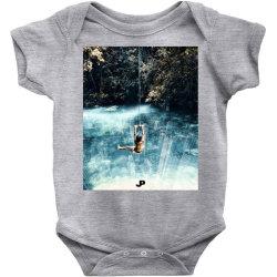 UNDERWATER CITY Baby Bodysuit | Artistshot