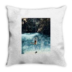 UNDERWATER CITY Throw Pillow | Artistshot