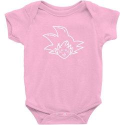 Dragon ball Z (DBZ) GOKU (Low Poly Abstract) Baby Bodysuit   Artistshot