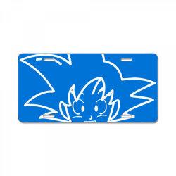 Dragon ball Z (DBZ) GOKU (Low Poly Abstract) License Plate   Artistshot