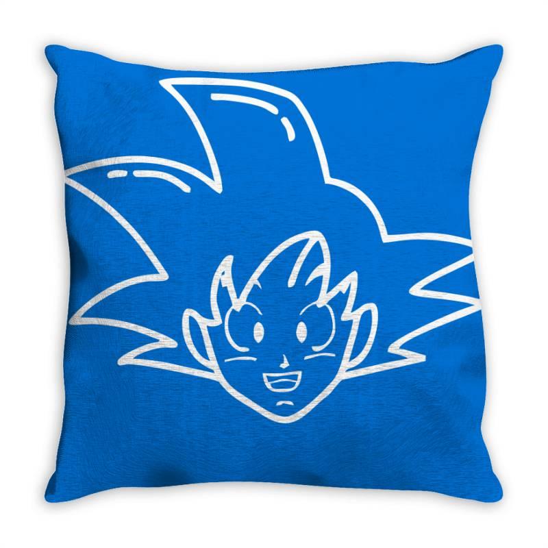 Dragon Ball Z (dbz) Goku (low Poly Abstract) Throw Pillow   Artistshot