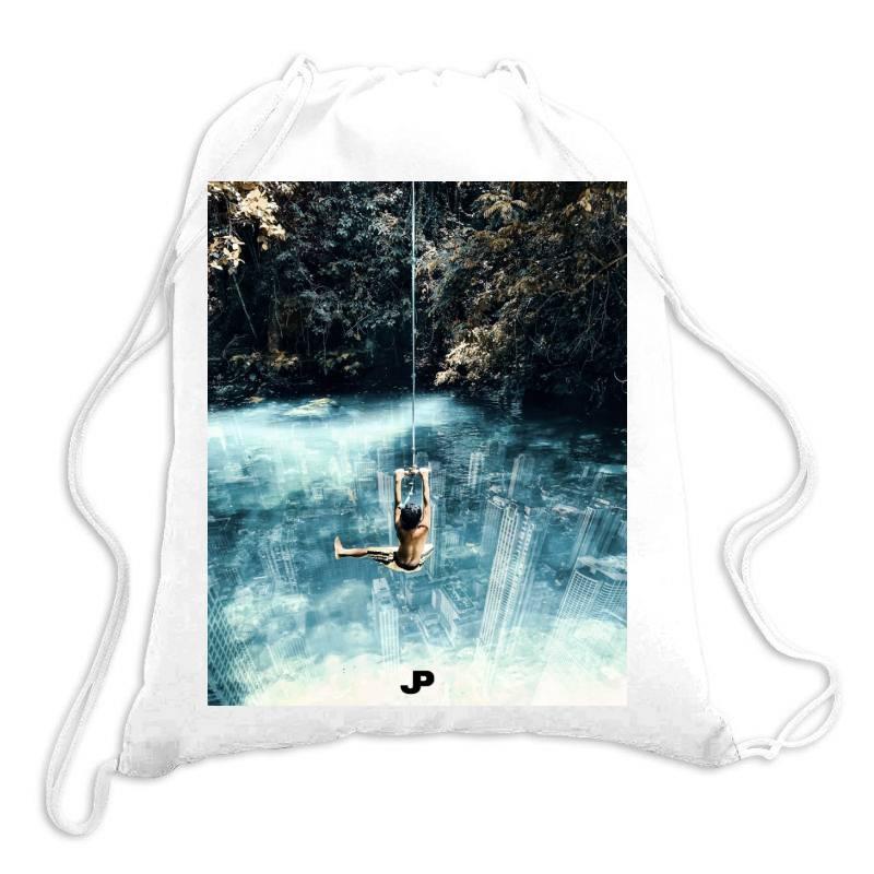 Underwater City Drawstring Bags   Artistshot