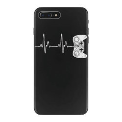 Gamer Heartbeat T-Shirt Video Game Lover Gift iPhone 7 Plus Case | Artistshot