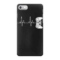 Gamer Heartbeat T-Shirt Video Game Lover Gift iPhone 7 Case   Artistshot
