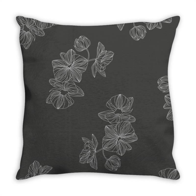 Grey Throw Pillow | Artistshot