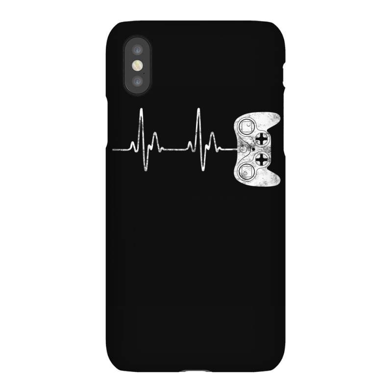 Gamer Heartbeat T-shirt Video Game Lover Gift Iphonex Case | Artistshot