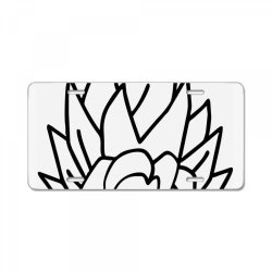 Dragon ball Z (DBZ) GOKU (Low Poly Abstract) FanArt License Plate | Artistshot