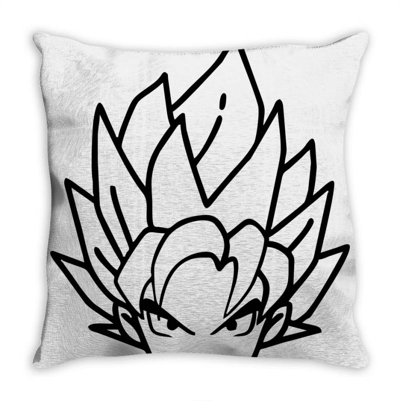 Dragon Ball Z (dbz) Goku (low Poly Abstract) Fanart Throw Pillow | Artistshot