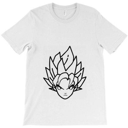 Dragon Ball Z (dbz) Goku (low Poly Abstract) Fanart T-shirt Designed By Dc47
