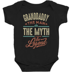 granddaddy the myth the legend Baby Bodysuit | Artistshot