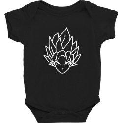 Dragon ball Z (DBZ) GOKU (Low Poly Abstract) FanArt Baby Bodysuit   Artistshot