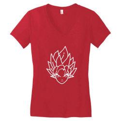 Dragon ball Z (DBZ) GOKU (Low Poly Abstract) FanArt Women's V-Neck T-Shirt | Artistshot