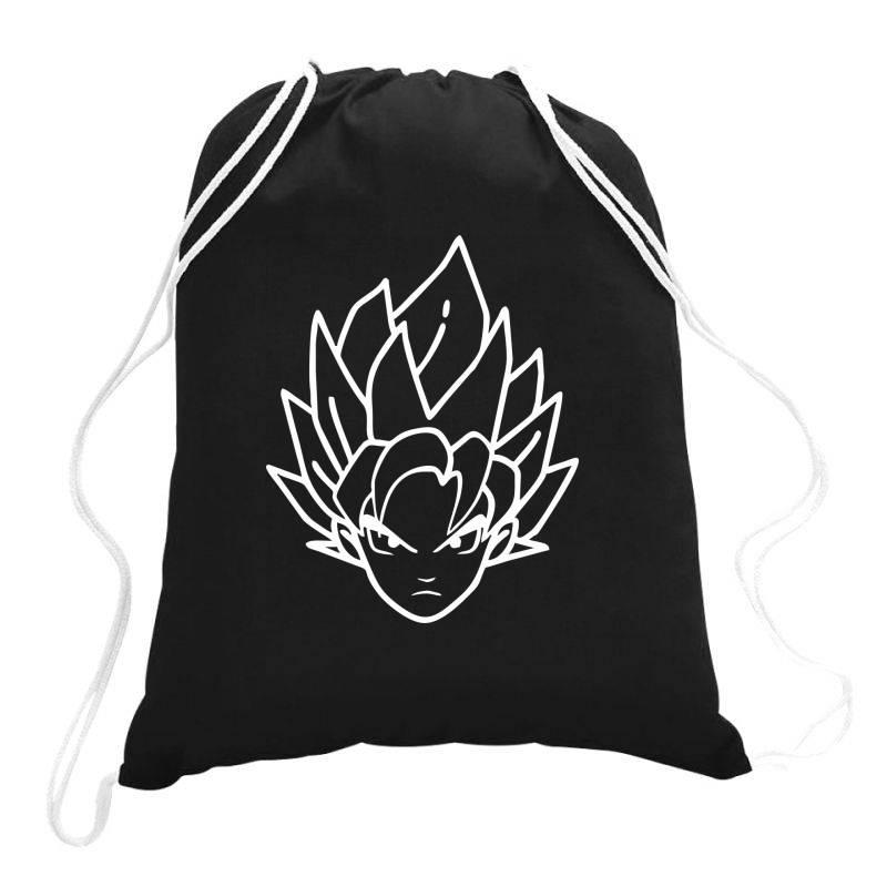 Dragon Ball Z (dbz) Goku (low Poly Abstract) Fanart Drawstring Bags | Artistshot