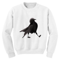 Crow Youth Sweatshirt | Artistshot