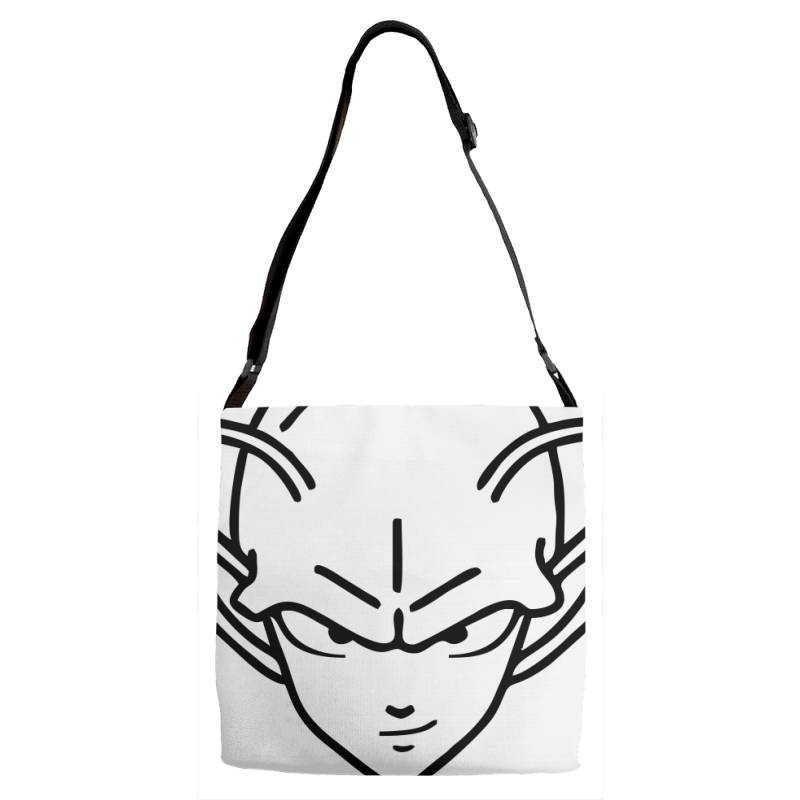 Dragon Ball Z (dbz) Piccolo (low Poly Abstract) Fanart Adjustable Strap Totes   Artistshot