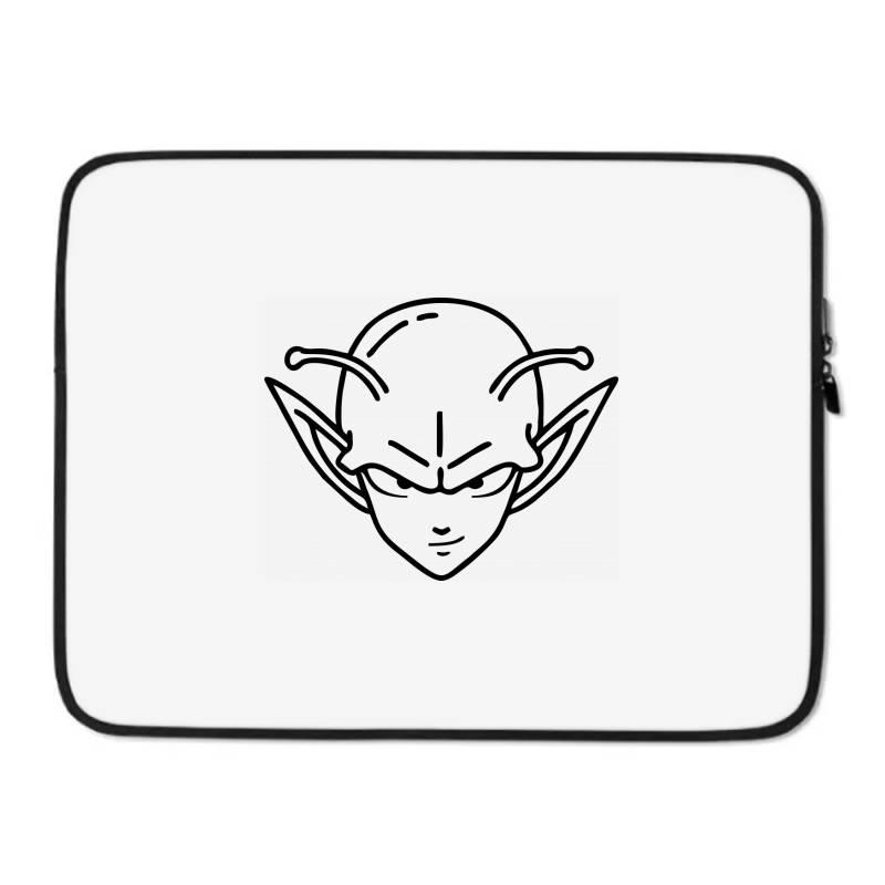 Dragon Ball Z (dbz) Piccolo (low Poly Abstract) Fanart Laptop Sleeve | Artistshot