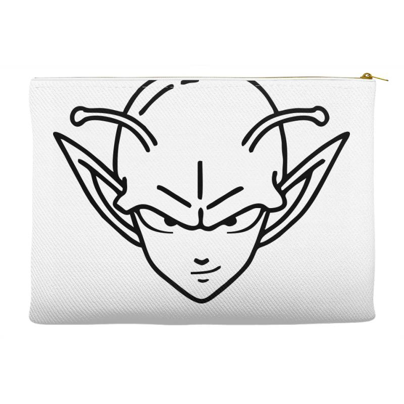 Dragon Ball Z (dbz) Piccolo (low Poly Abstract) Fanart Accessory Pouches | Artistshot